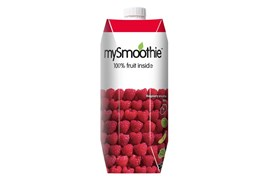 MySmoothie 750ml Vadelma smoothie
