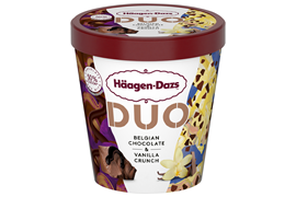 Häagen-Dazs Belgian Chocolate & Vanilla Crunch 420ml