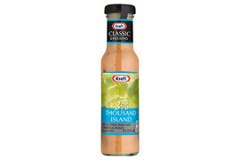 Kraft 235ml Thousand Island 3% salad dressing
