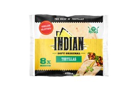 Indian 320g Tortilla original 8 kpl medium