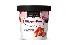 Häagen-Dazs Strawberry cheesecake ice cream 460ml/400g
