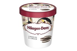 Häagen-Dazs Cookies & cream 460ml/386g