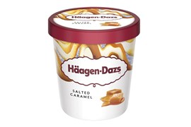 Häagen-Dazs Salted Caramel Minicup ice cream 95ml/81g
