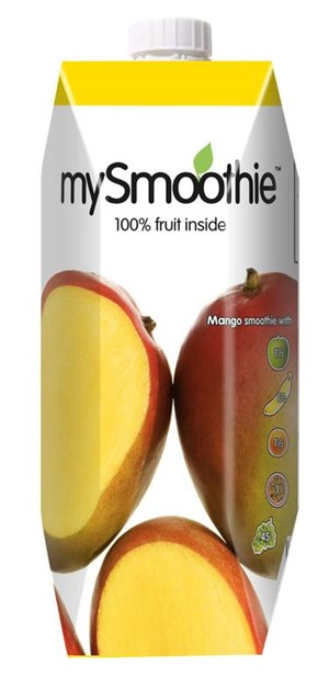My Smoothie mango smoothie 750ml