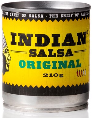 Indian 210g Salsa Original meksikolainen tomaattisalsa