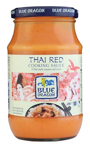 Blue Dragon 370g/350ml Thai Red ateriakastike