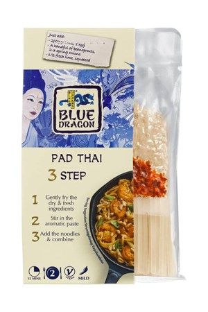 Blue Dragon 267g Pad Thai 3 step