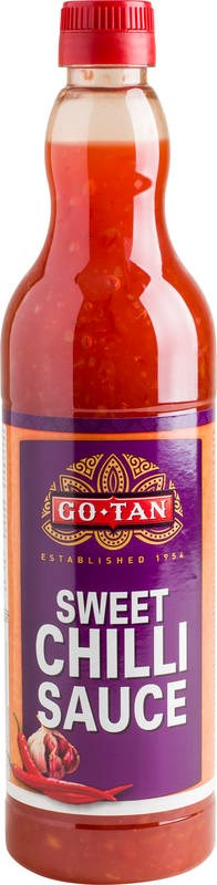 Go-Tan 715 ml Sweet Chilli sauce makean tulinen chilikastike