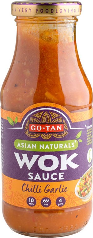 Go-Tan 240ml Chilli Garlic wok-kastike