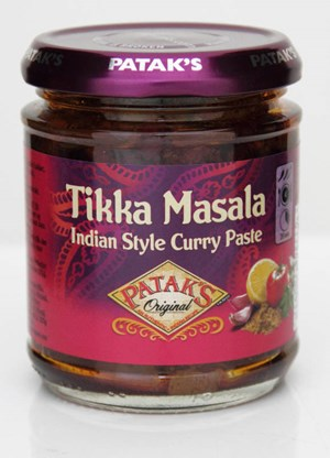 Patak's 165g Tikka Masala Curry Paste tahna