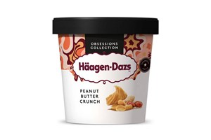 Häagen-Dazs Peanut Butter Crunch ice cream 460ml/400g