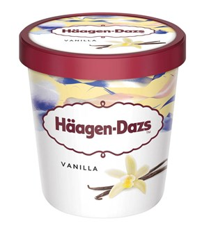 Häagen-Dazs Vanilla ice cream 460ml/400g